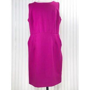 Lands' End Stretch Sheath Dress Pockets Size 20W